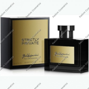 Baldessarini strictly private men woda toaletowa 90 ml spray