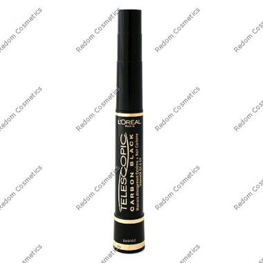 Loreal tusz telescopic carbon black 8 ml