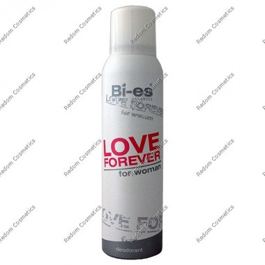 Bi-es love forever for women biaÂŁy dezodorant 150 ml spray