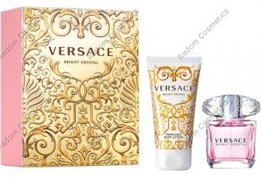 Versace bright crystal woda toaletowa 30 ml spray + balsam do ciaŁa 50 ml