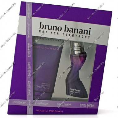 Bruno banani magic damska woda toaletowa 20 ml spray + Żel pod prysznic 200 ml