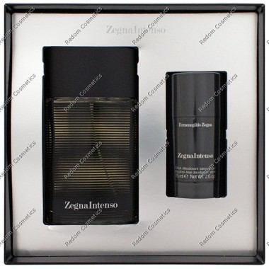Ermenegildo zegna intenso woda toaletowa 100 ml spray + sztyft 75 ml