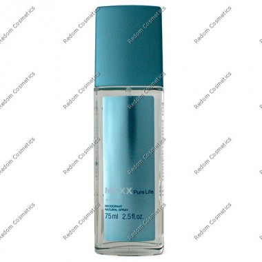 Mexx pure life women dezodorant 75 ml atomizer