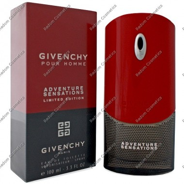 Givenchy adventure sensations pour homme woda toaletowa  100 ml spray