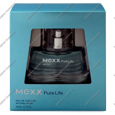 Mexx pure life women woda toaletowa 20 ml spray