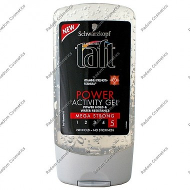 Taft Żel power activity mega strong 150 ml