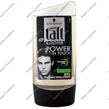 Taft Żel power n touch mega strong 150 ml