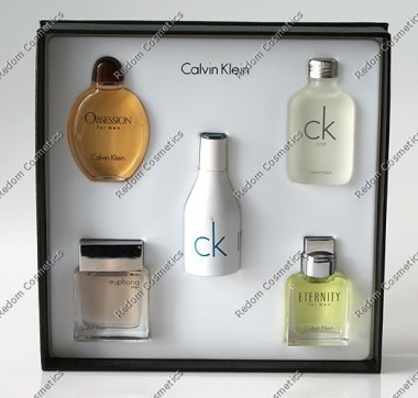 Calvin klein miniaturki for men 5 x 15 ml