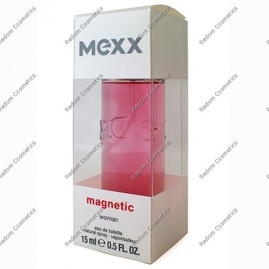 Mexx magnetic women woda toaletowa 15 ml spray