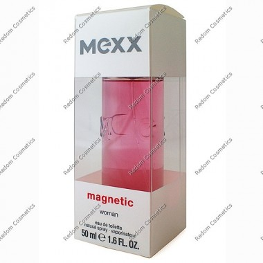 Mexx magnetic women woda toaletowa 50 ml spray