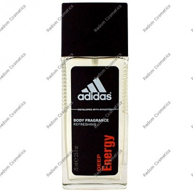 Adidas deep energy dezodorant 75 ml atomizer