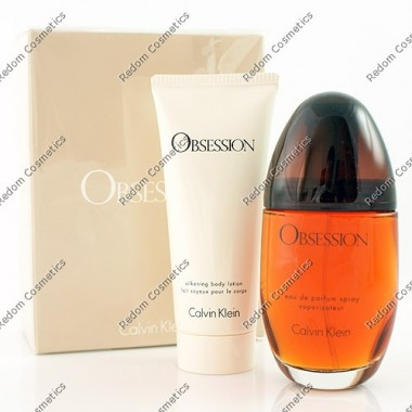 Calvin klein obsession women woda perfumowana 100 ml spray + balsam do ciaŁa 100 ml