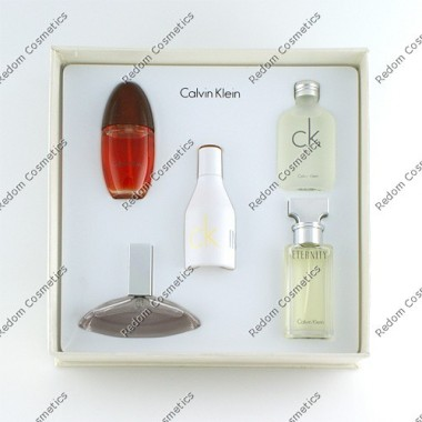 Calvin klein miniaturki for women 5 x 15 ml spray