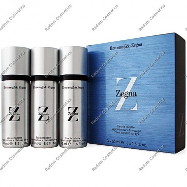Ermenegildo zegna z men woda toaletowa 3 x  50 ml spray