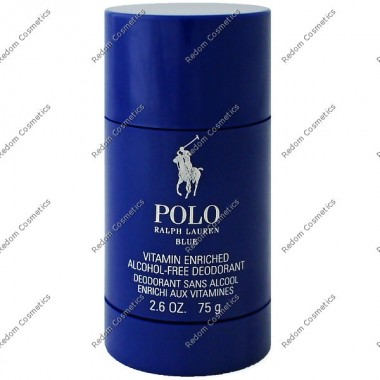 Ralph lauren polo blue men dezodorant sztyft 75 ml