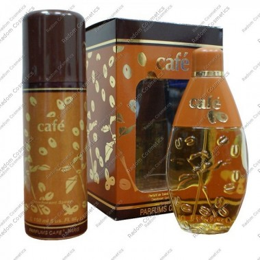 Cafe woda toaletowa 60 ml spray + dezodorant 150  ml spray