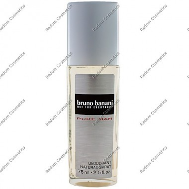 Bruno banani pure men dezodorant 75 ml atomizer