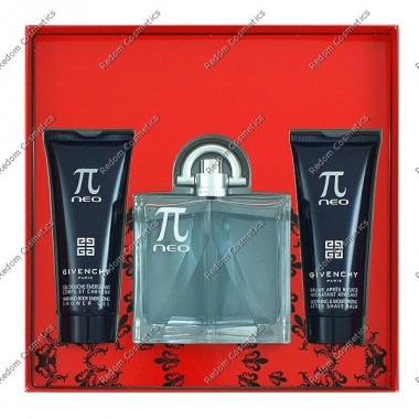Givenchy pi neo men woda toaletowa 100 ml spray + Żel pod prysznic 75 ml + balsam po goleniu 75 ml