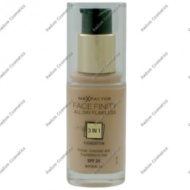 Max factor facefinity all day flawless 3 w 1 podkŁad nr 50 natural 30 ml