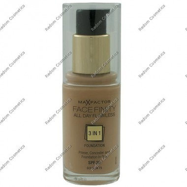 Max factor facefinity all day flawless 3 w 1 podkŁad nr 75 golden 30 ml
