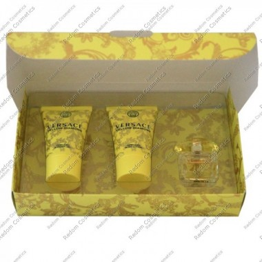 Versace yellow diamond woda toaletowa 5ml + balsam do ciaŁa 25ml + Żel pod prysznic 25ml