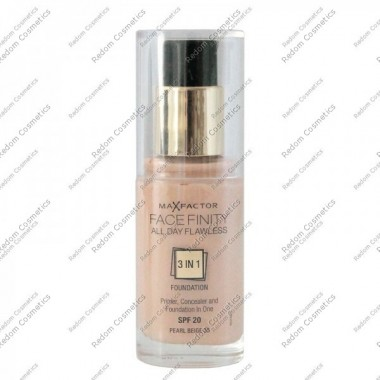 Max factor facefinity all day flawless 3 w 1 podkŁad nr 35 pearl beige 30 ml