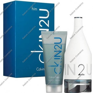 Calvin klein ck in2u men woda toaletowa 150 ml spray + Żel pod prysznic 150 ml