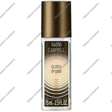 Naomi campbell quenn of gold women dezodorant 75 ml atomizer