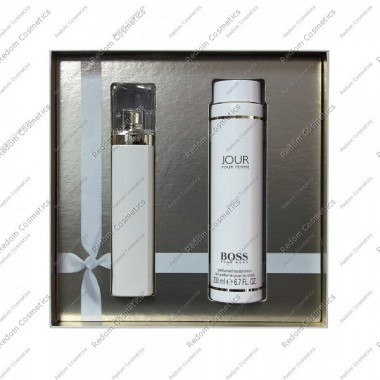 Hugo boss jour woda perfumowana 75 ml spray + balsam  200 ml