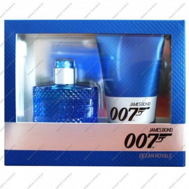 James bond 007 ocean royal woda toaletowa 50 ml spray + Żel pod prysznic 150 ml