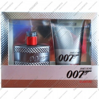 James bond 007 quantum woda toaletowa 50 ml spray + Żel pod prysznic 150 ml