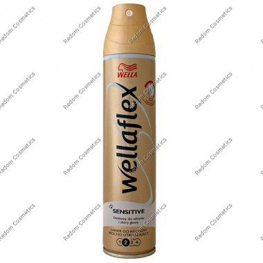 Wella wellaflex lakier do w£osÓw mocno utrwalaj¡cy sensitive 250 ml