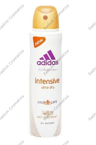 Adidas cool&care intensive ultra dry 48h women dezodorant 150 ml spray