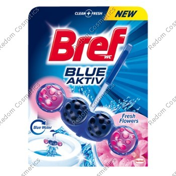 Bref blue activ zawieszka do wc 50g fresh flowers