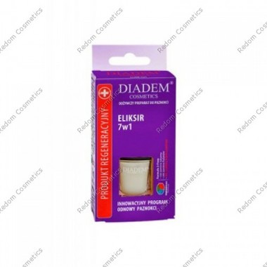 Diadem 0-65 eliksir do paznokci 7w1 11ml