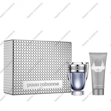 Paco rabanne invictus woda toaletowa 100 ml spray + ÂŻel pod prysznic 100 ml