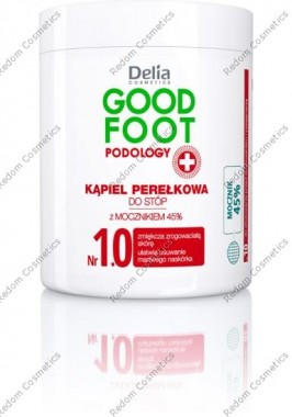 Delia good foot k¡piel pere£kowa do stÓp 250g