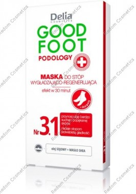 Delia good foot maska do stÓp wyg£adzaj¡co-regeneruj¡ca