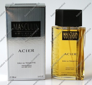 Bourjois masculin acier woda toaletowa 100 ml spray