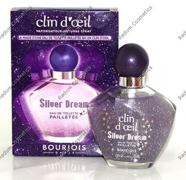 Bourjois silver dream woda toaletowa 75 ml spray