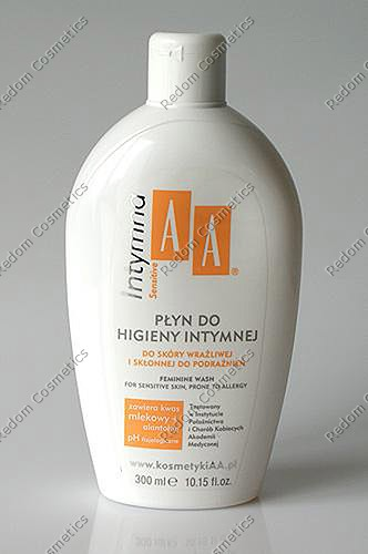 Aa intymna pÂŁyn do higieny intymnej sensitive 300 ml (zapas)
