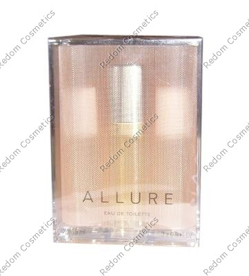 Chanel allure woda toaletowa 3 x 15 ml spray