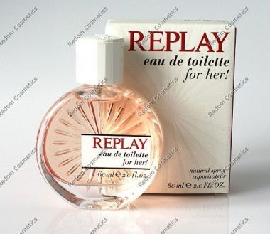 Replay for her replay woda toaletowa 60 ml spray