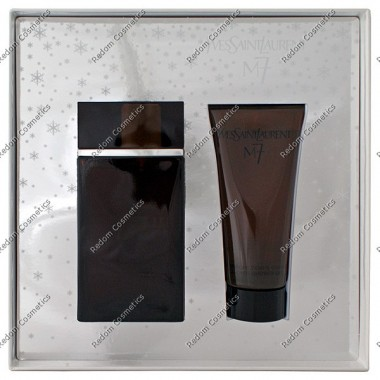 Yves saint laurent m7 men woda toaletowa spray 100 ml + Żel pod prysznic 100 ml