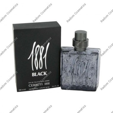 Cerruti 1881 black men woda toaletowa 100 ml spray