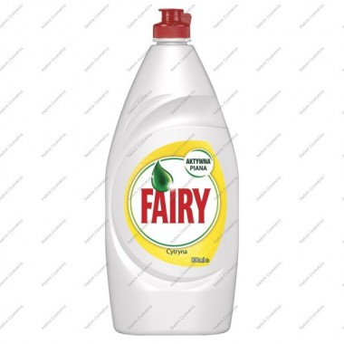 FAIRY 900ML. PŁYN DO NACZYŃ LEMON