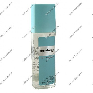 Bruno banani about damski dezodorant 75 ml atomizer