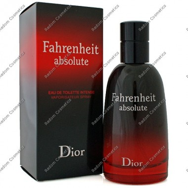 Christian dior fahrenheit absolute woda toaletowa 100 ml spray