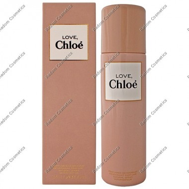 Chloe love women dezodorant 100 ml atomizer