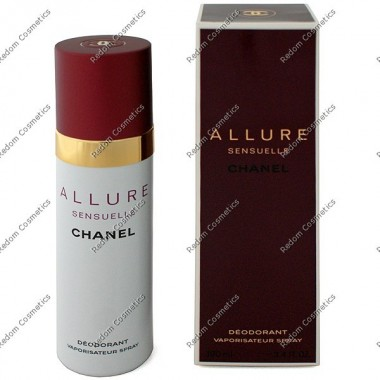 Chanel allure sensuelle women dezodorant 100 ml atomizer